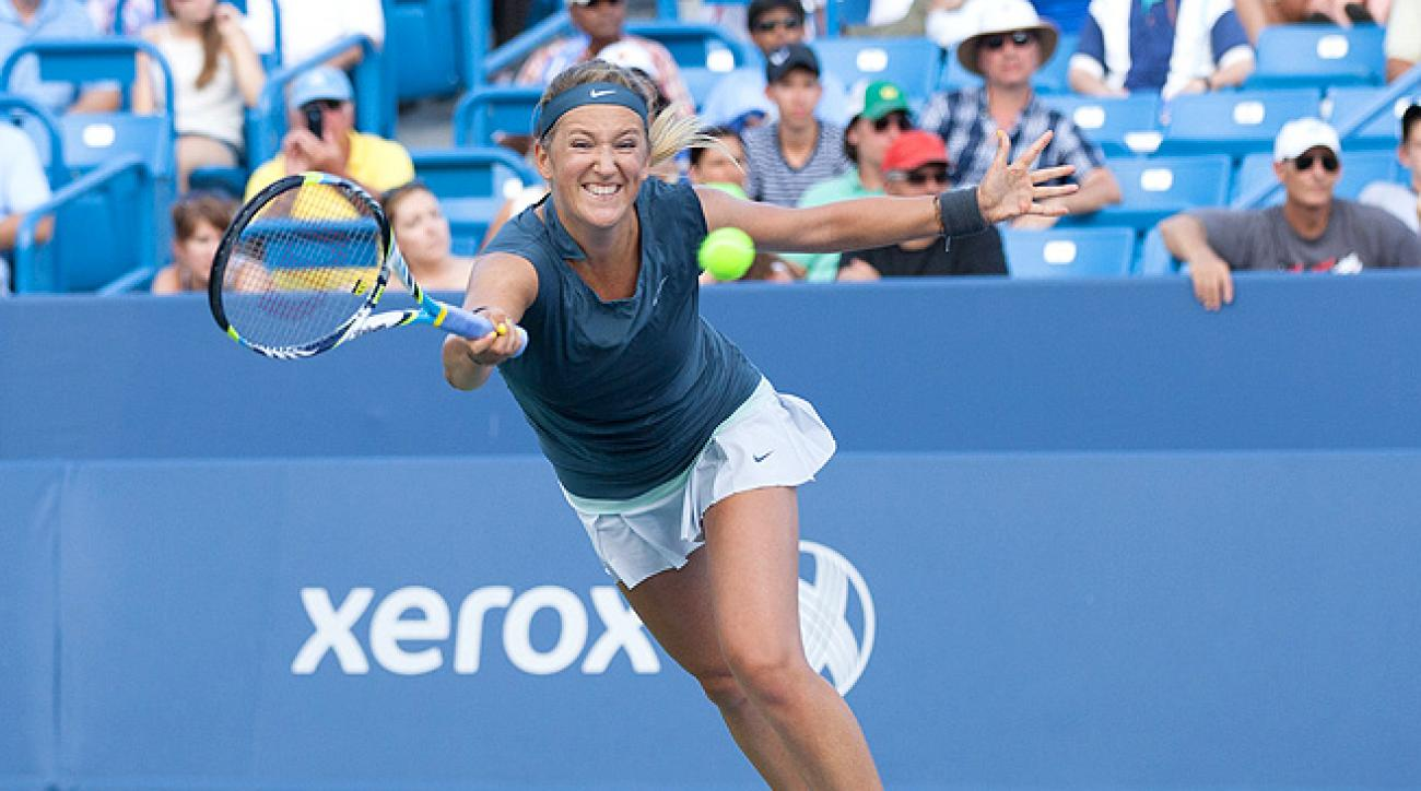 Attendance at women's matches continues to fall, even when Victoria Azarenka faces Serena Williams.