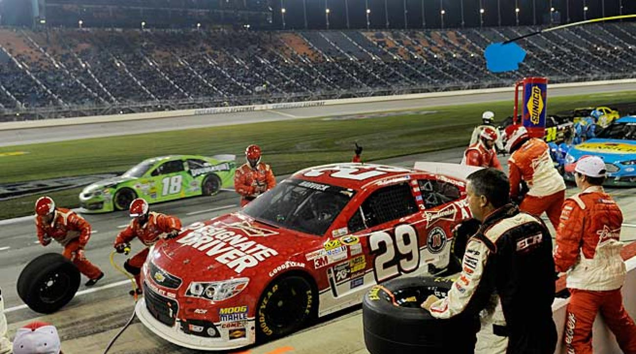 If Kevin Harvick has an edge among lame ducks, it's his team's acceptance of his impending departure.