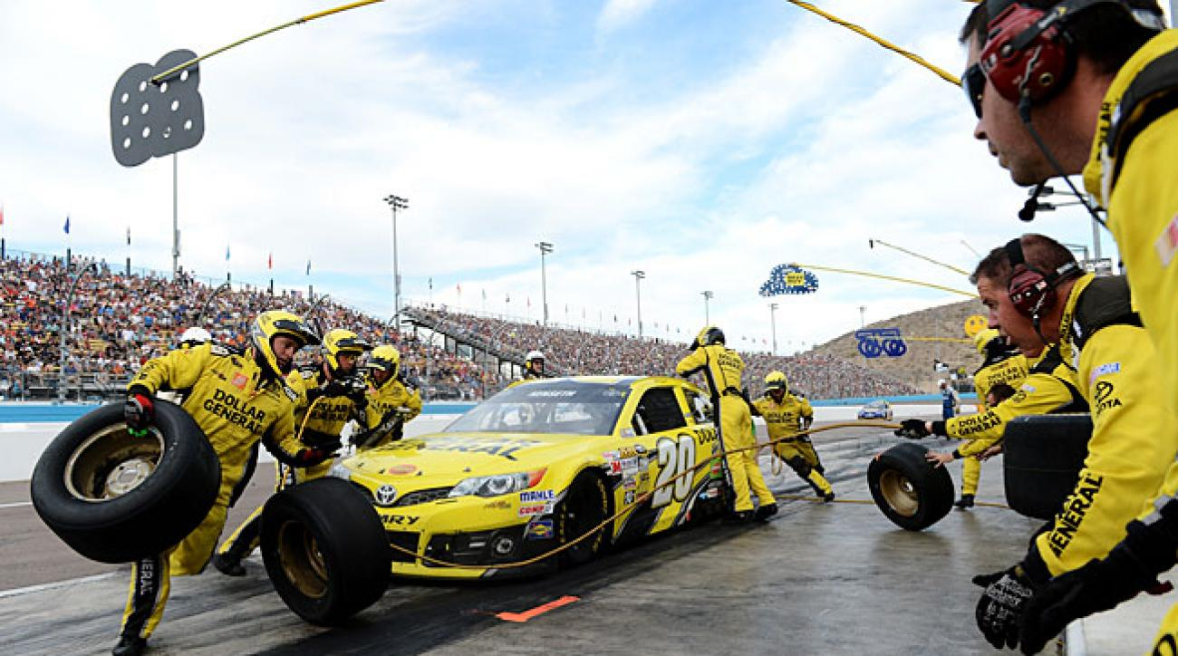 Though his Cup hopes sank at Phoenix, Matt Kenseth celebrated his success this year with a new crew.