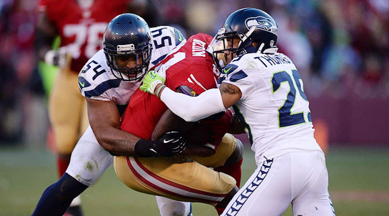 Seattle entered the game on a seven-game win streak, but its D faltered several times down the stretch.