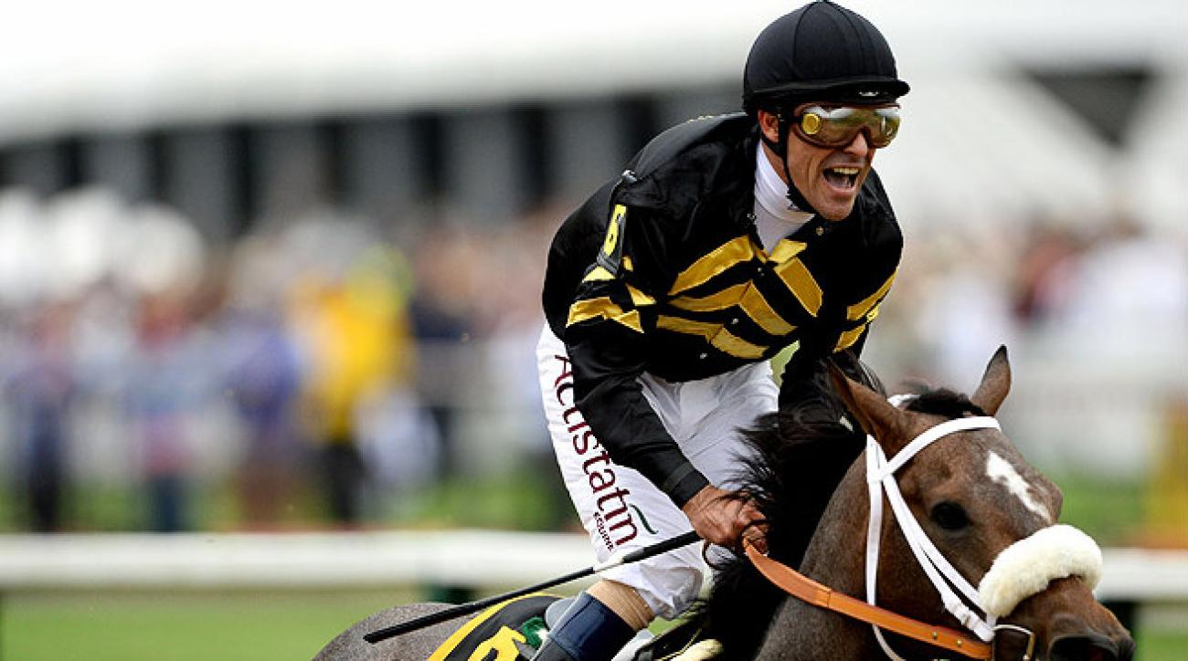 After a seven-year hiatus, Gary Stevens came out of retirement last January and has won 66 races in 2013 so far.