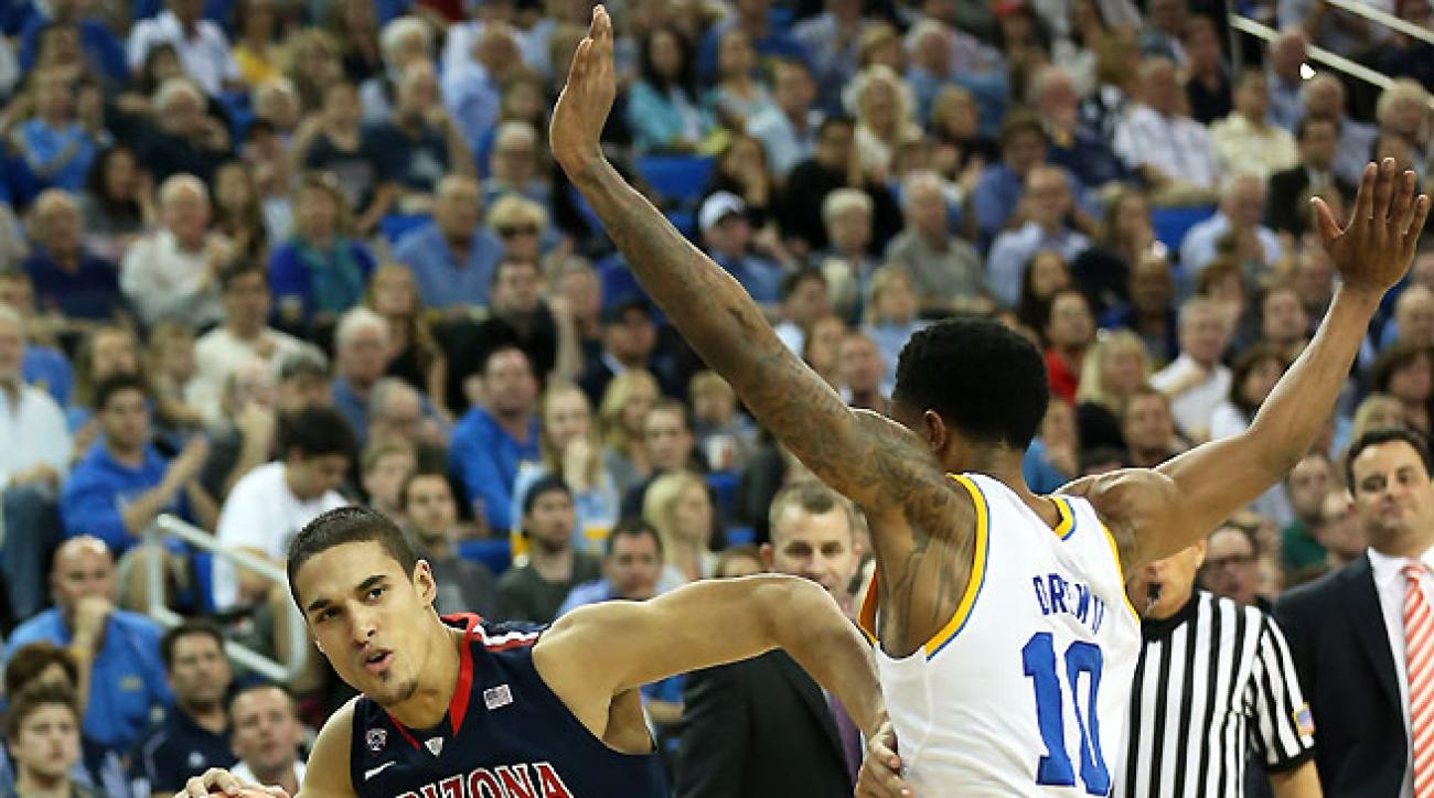 In addition to setting the tone on defense, Nick Johnson is leading Arizona with 16 points a game.