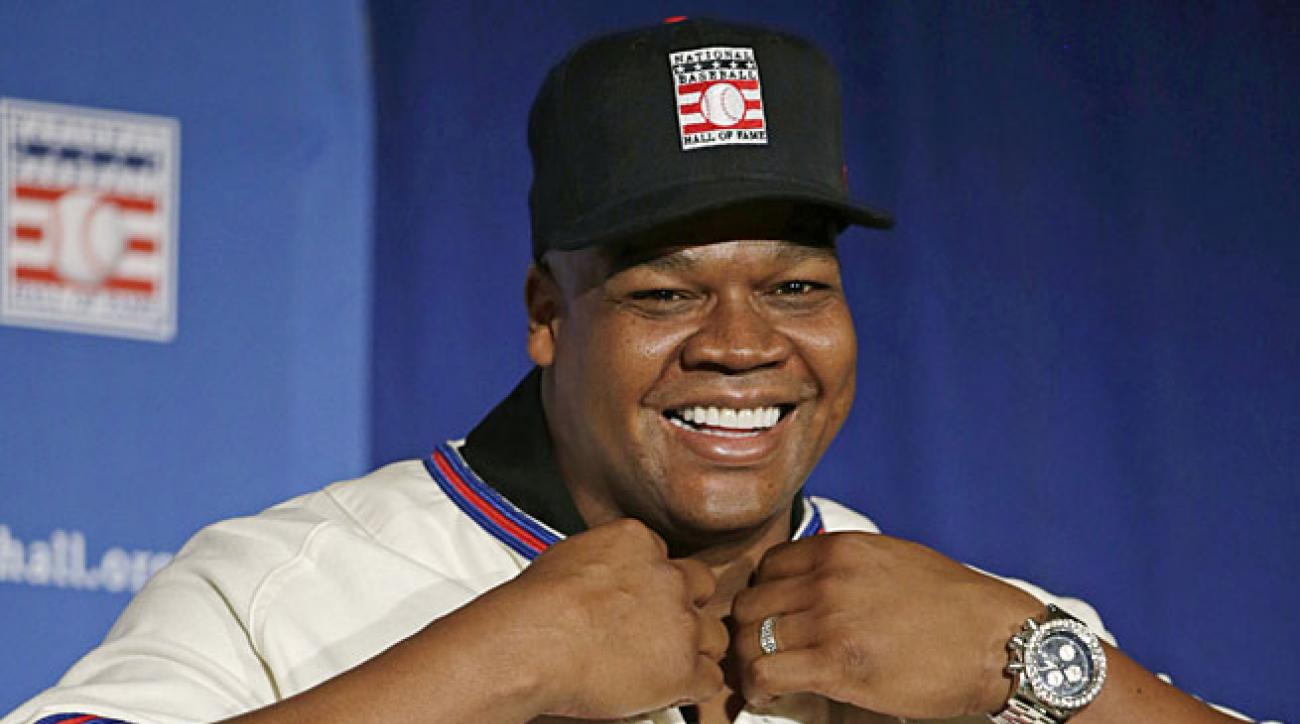 Frank Thomas earned election to Cooperstown on the first ballot by receiving 83.7 percent of the vote.