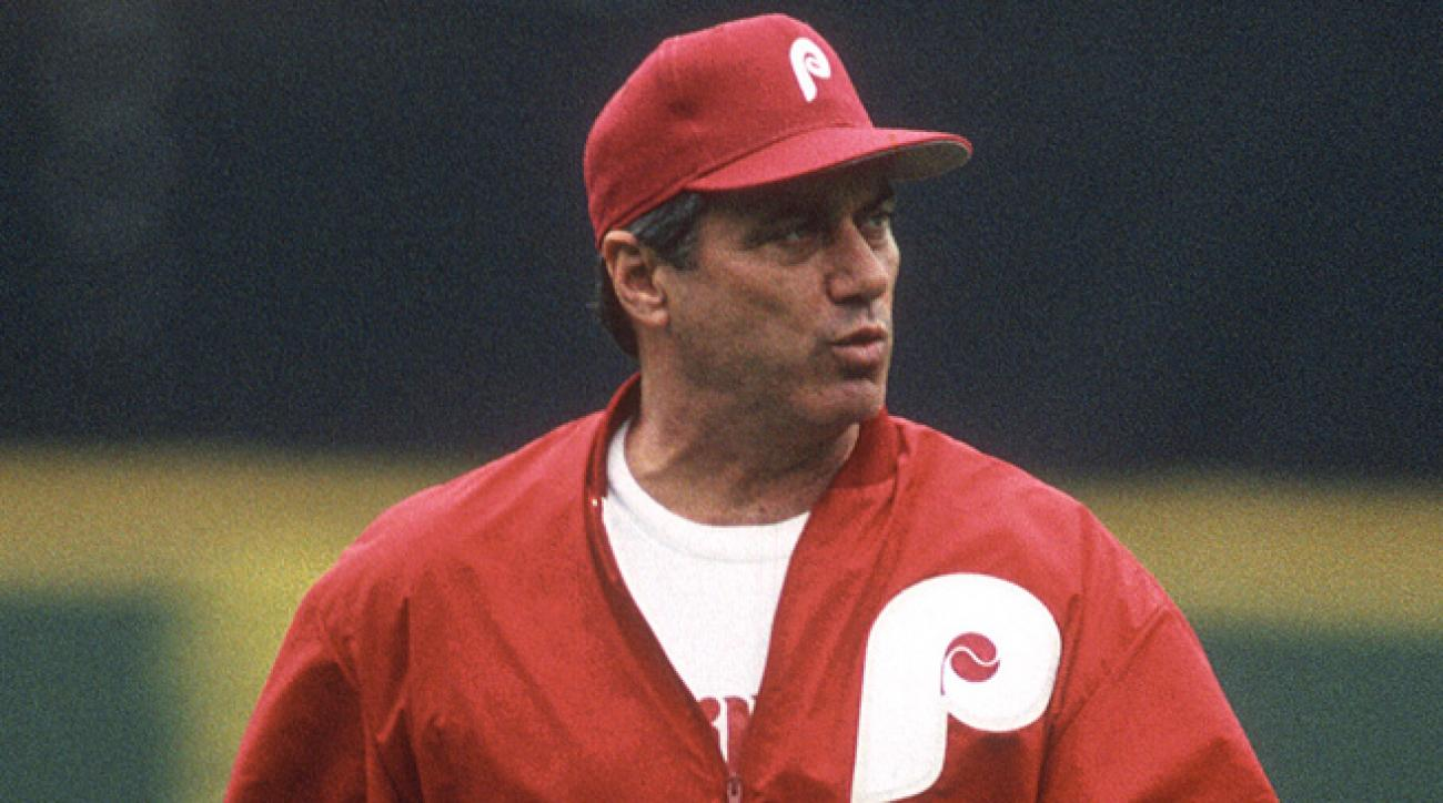 Jim Fregosi managed the Phillies for six seasons from 1991 to 1996.