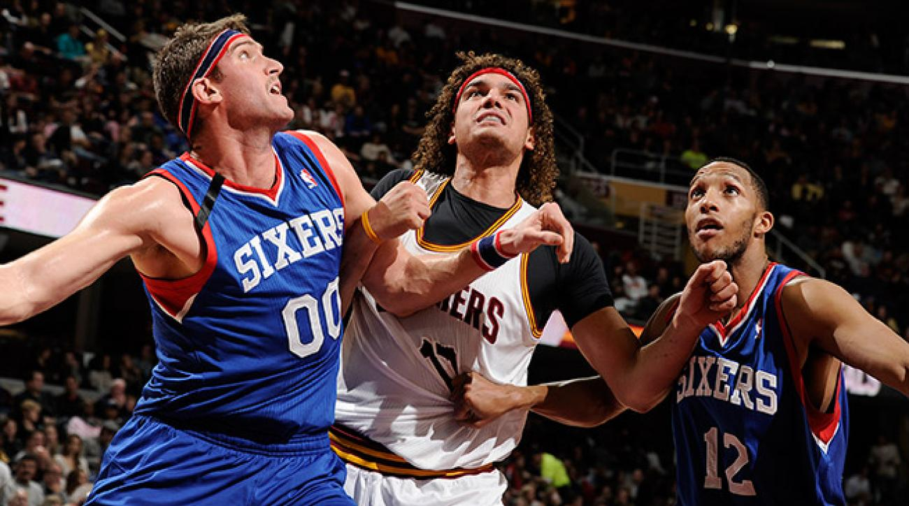 The cellar-dwelling 76ers could look to move Spencer Hawes (00) and Evan Turner (12) at the deadline.