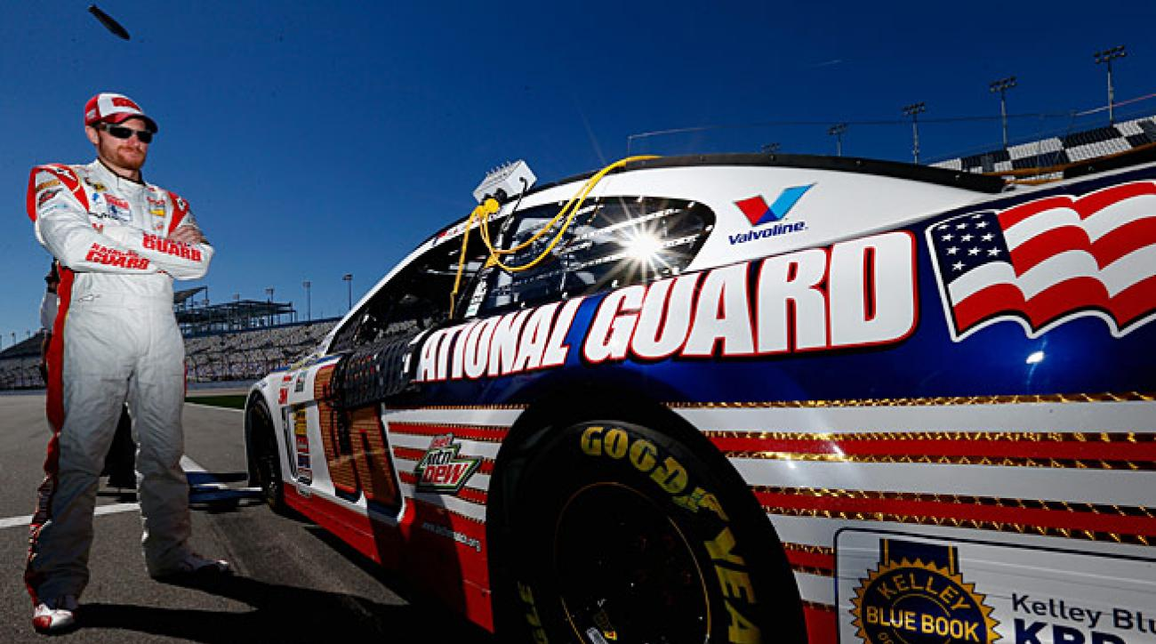 Dale Earnhardt ended 2013 on a roll and starts the new season at a track that brings out his best.