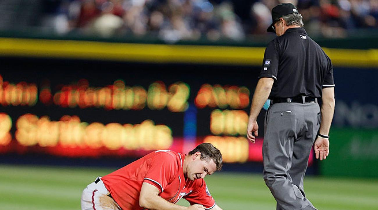Ryan Zimmerman's broken thumb will keep him out of the Washington lineup for 4-6 weeks.