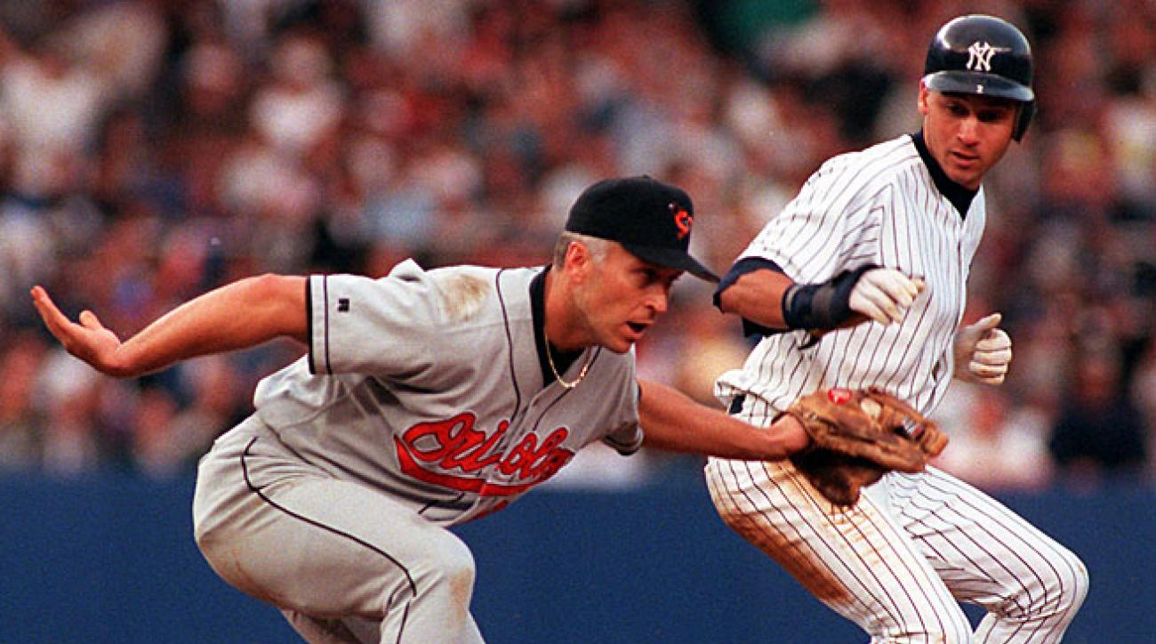 Cali Ripken's Orioles and Derek Jeter's Yankees faced off in the 1996 ALCS in which Jeter hit a controversial Game 1 home run that played a key role in New York's series win.