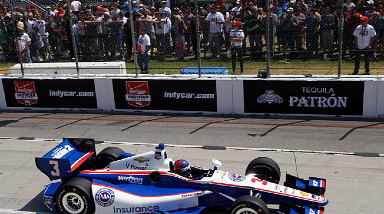 Tweet and sour: Speaking his mind on Twitter has made the going tougher for Helio Castroneves.