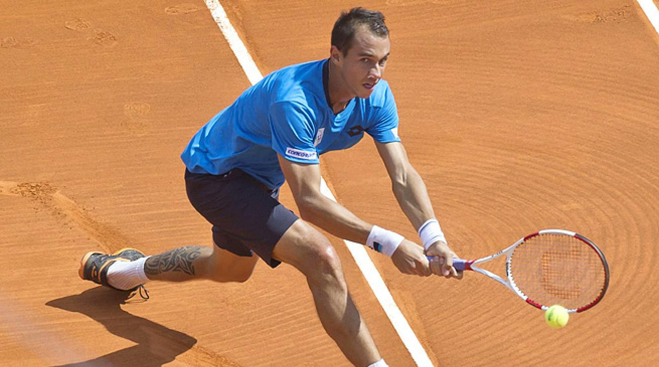 Lukas Rosol knocked out Jarkko Nieminen 6-2, 6-4 to reach the quarters of the Nastase Tiriac Trophy.