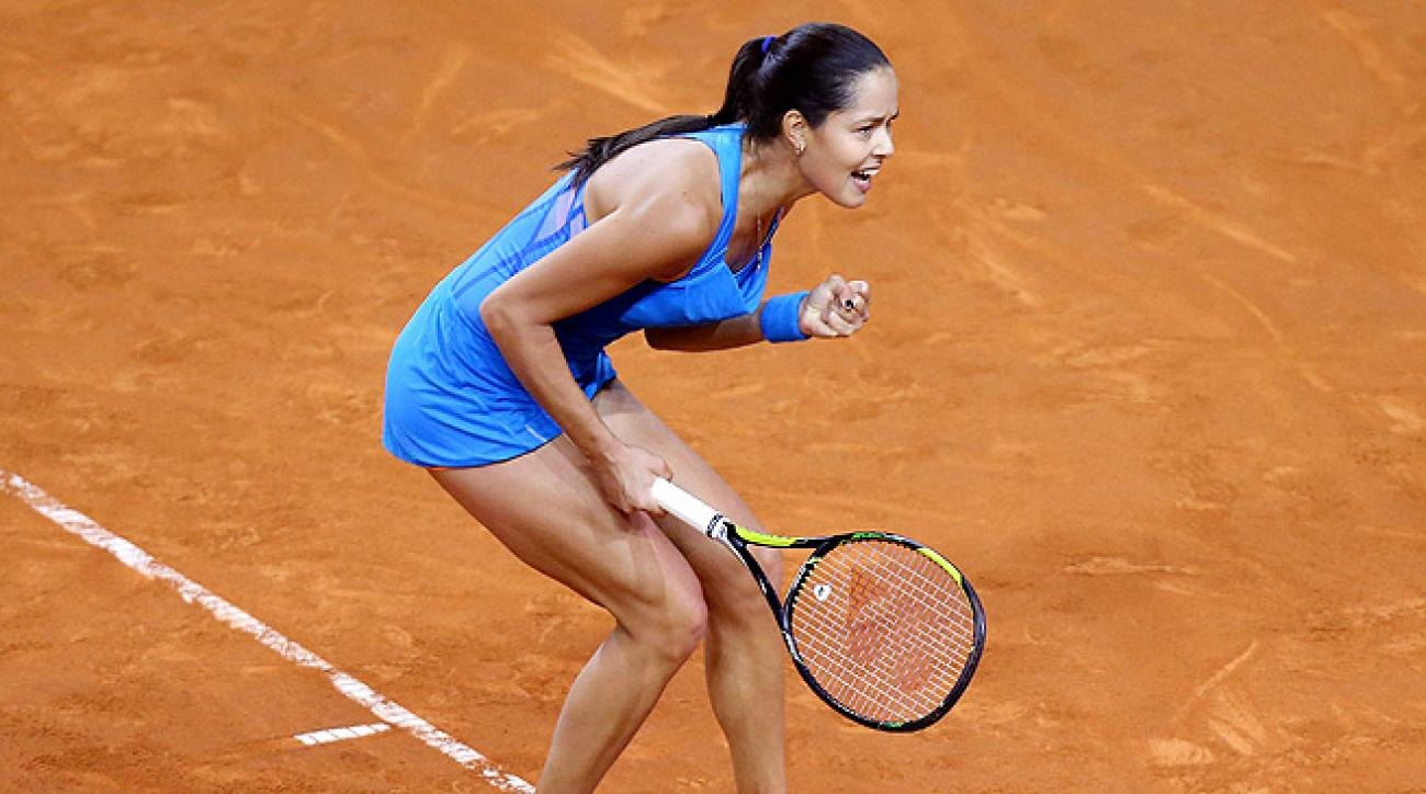 Ana Ivanovic needed just an hour to knock Sabine Lisicki out of the Porsche Grand Prix.