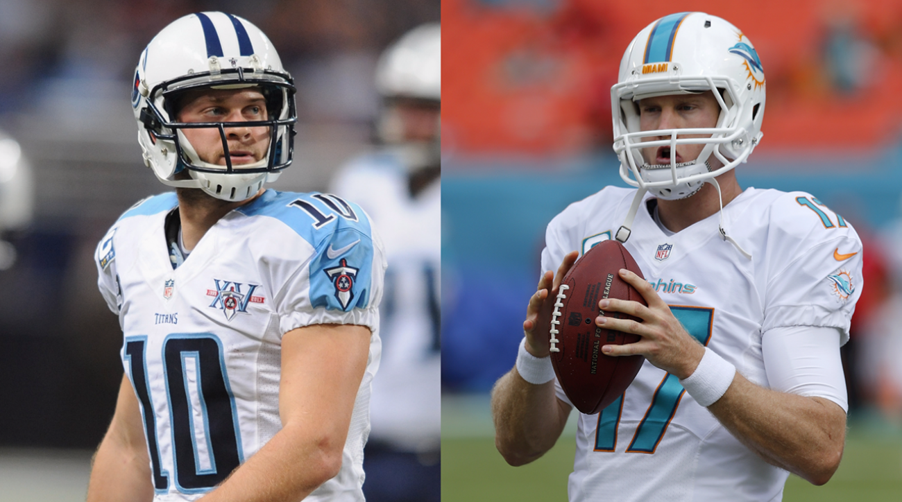 Ryan Tannehill and Jake Locker
