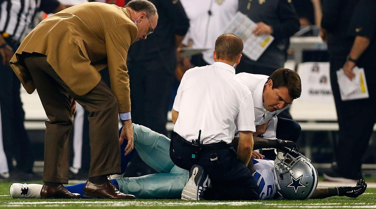The Dallas Cowboys fear the worst for CB Morris Claiborne who may have suffered a torn ACL Sunday night against the Saints.