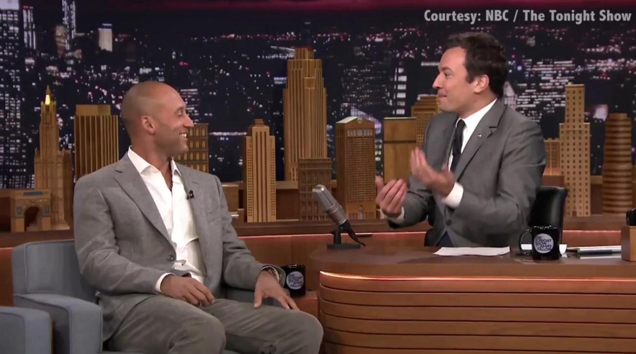 derek jeter on jimmy fallon