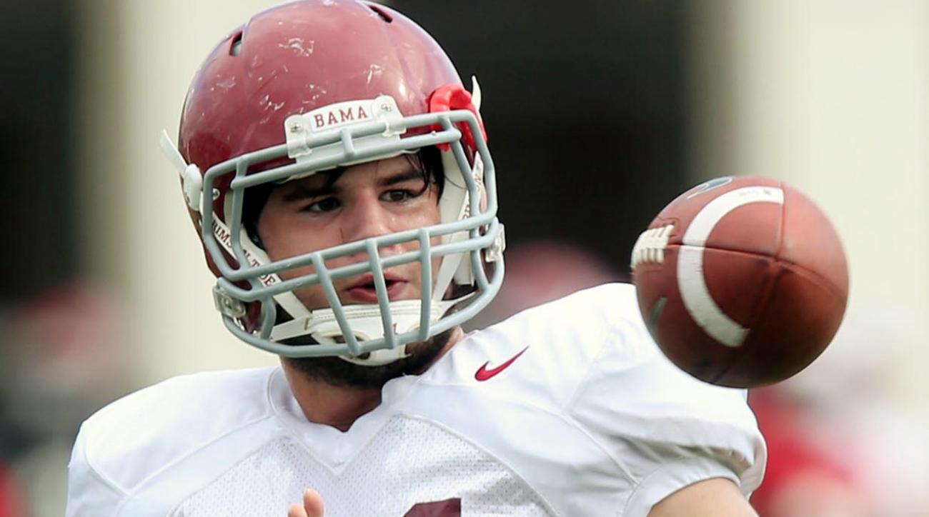 Narcotics agents found a large amount of marijuana and cash in Alabama tight end Kurt Freitag's dorm room.