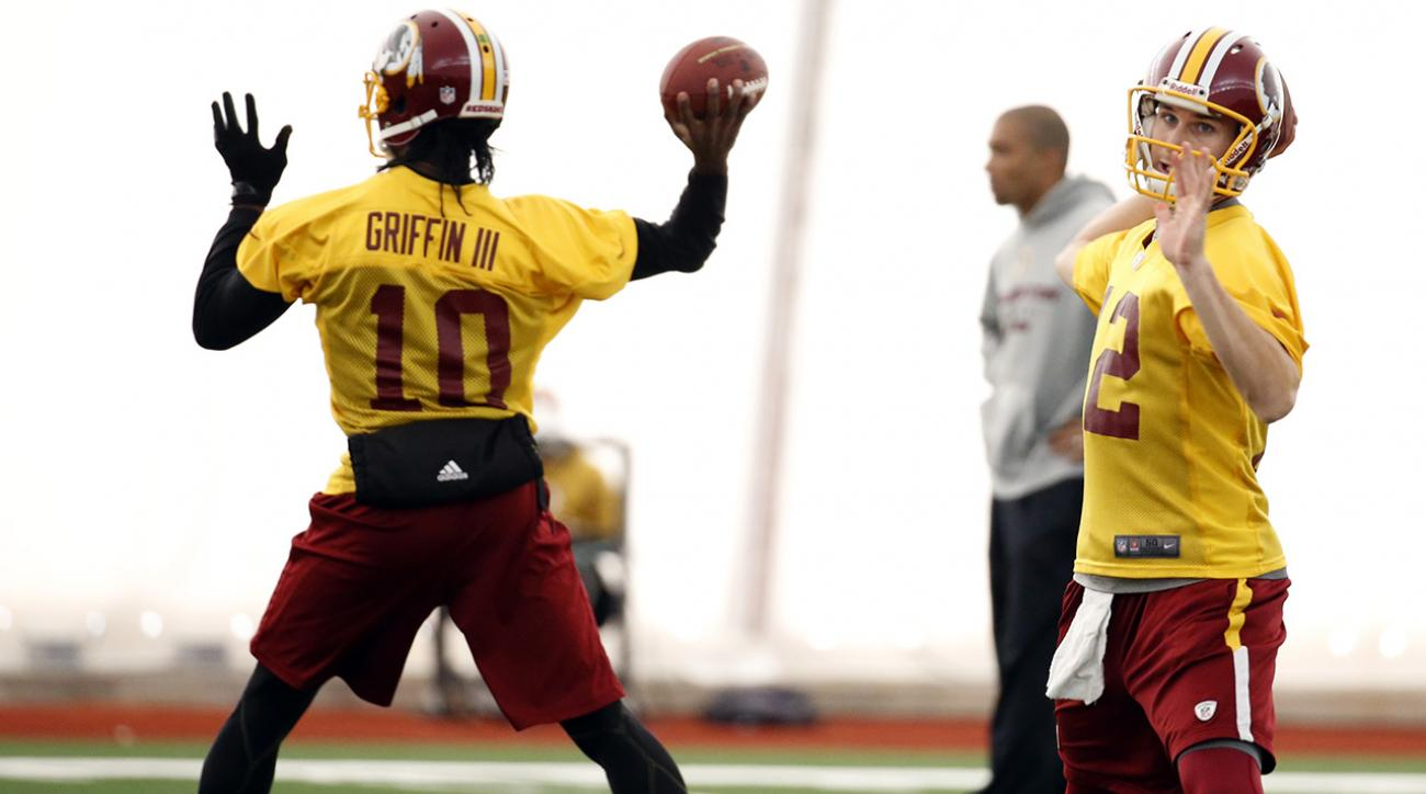 rg3 returns to practice