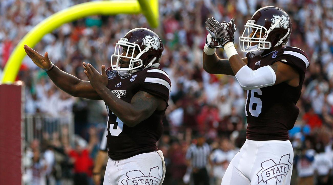 Week 8 AP Poll has 4 SEC teams in top 5, Mississippi State remains No. 1