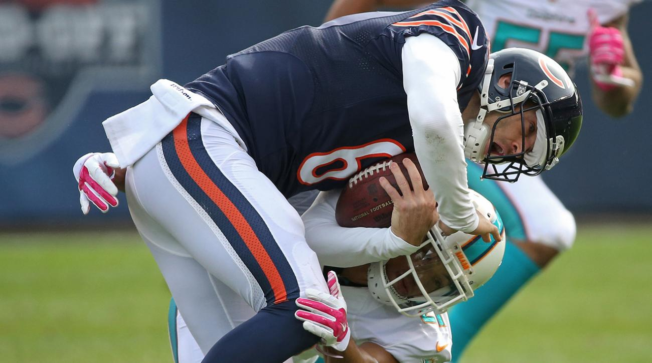 Reporters hear yelling from Bears locker room after loss vs. Dolphins