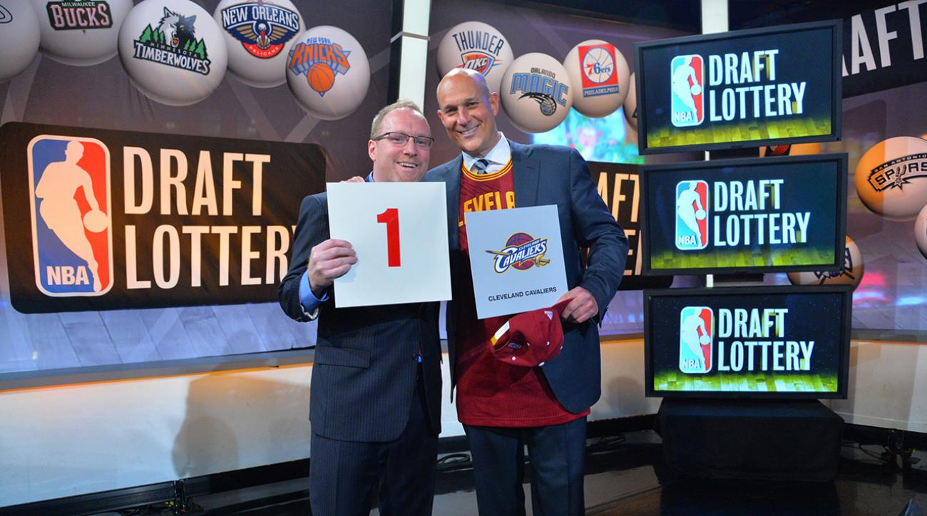 when is the nba draft lottery
