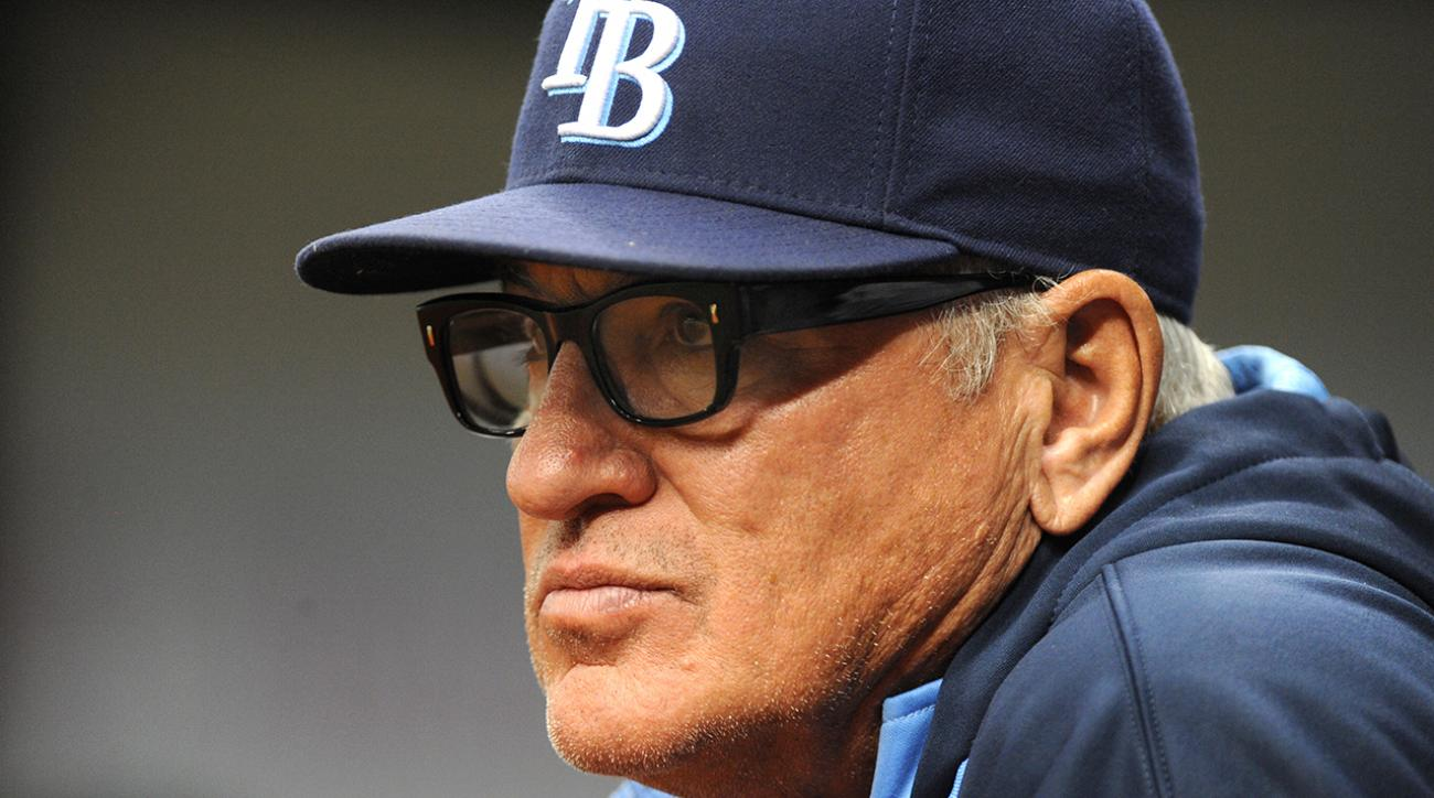 joe maddon leaves rays