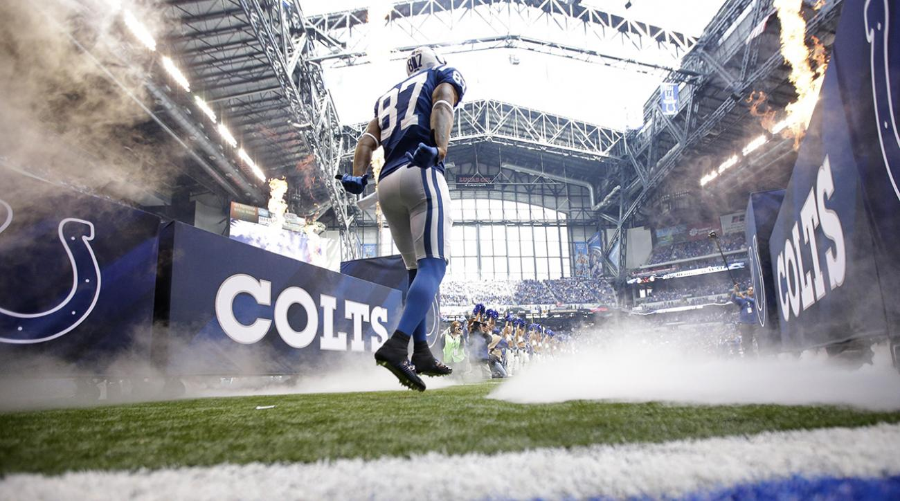 Colts WR Reggie Wayne (elbow) is out for Sunday's game against the Steelers.