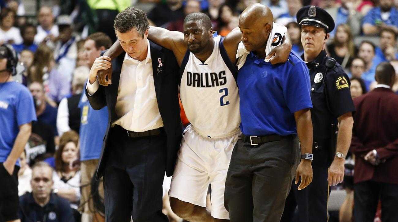 Mavericks guard Raymond Felton to start suspension when healthy
