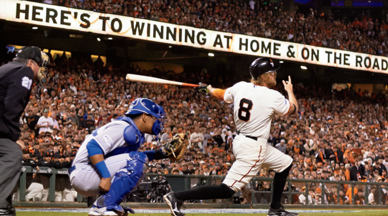 SI cover features 2014 World Series