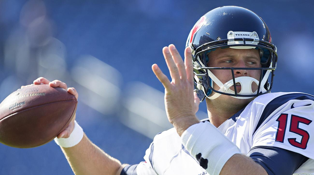 ryan mallett to start houston texans