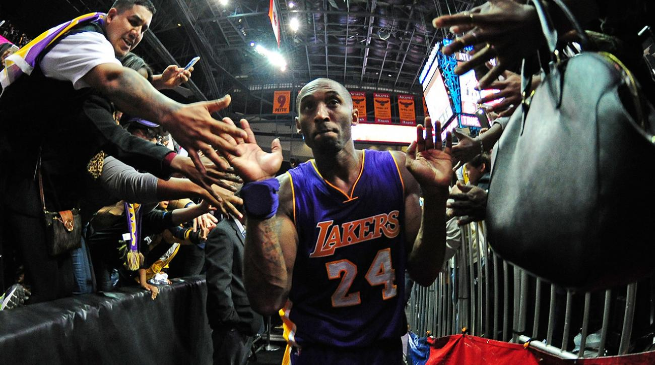 kobe bryant historic night lakers