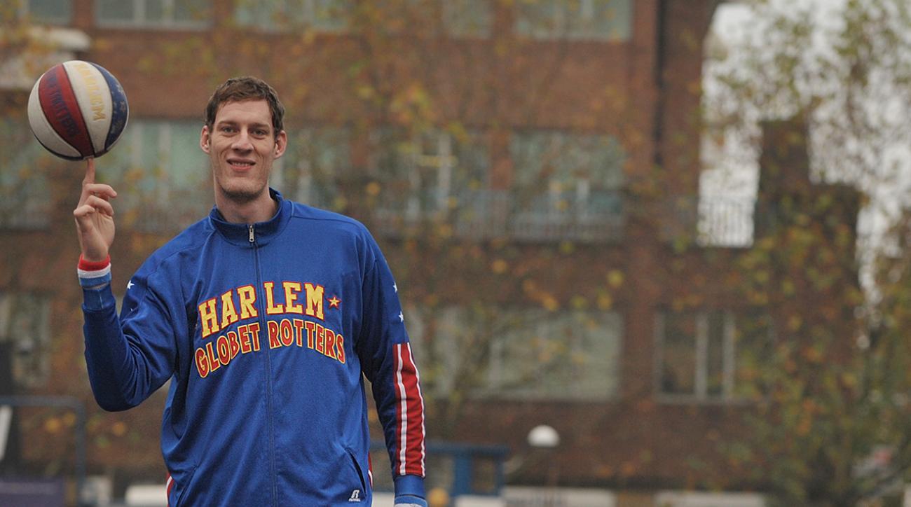 paul sturgess worlds tallest basketball player