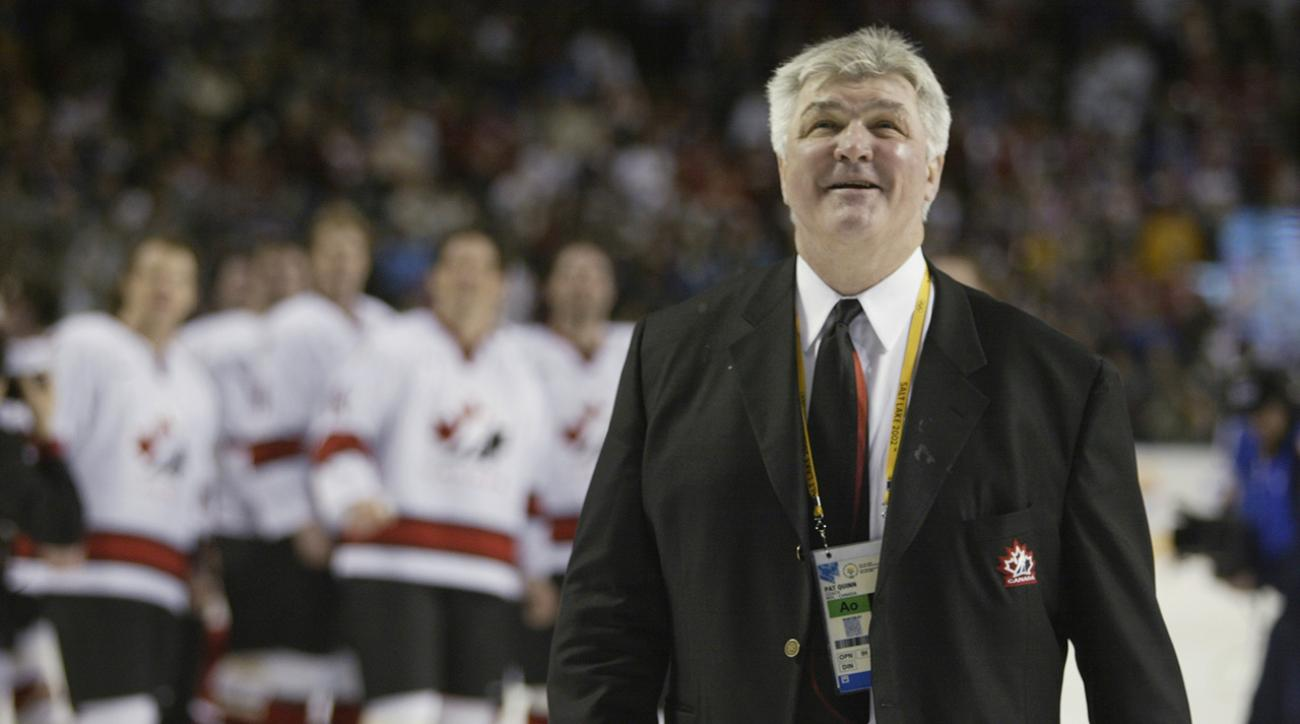 Hall of Fame coach Pat Quinn dies at age 71