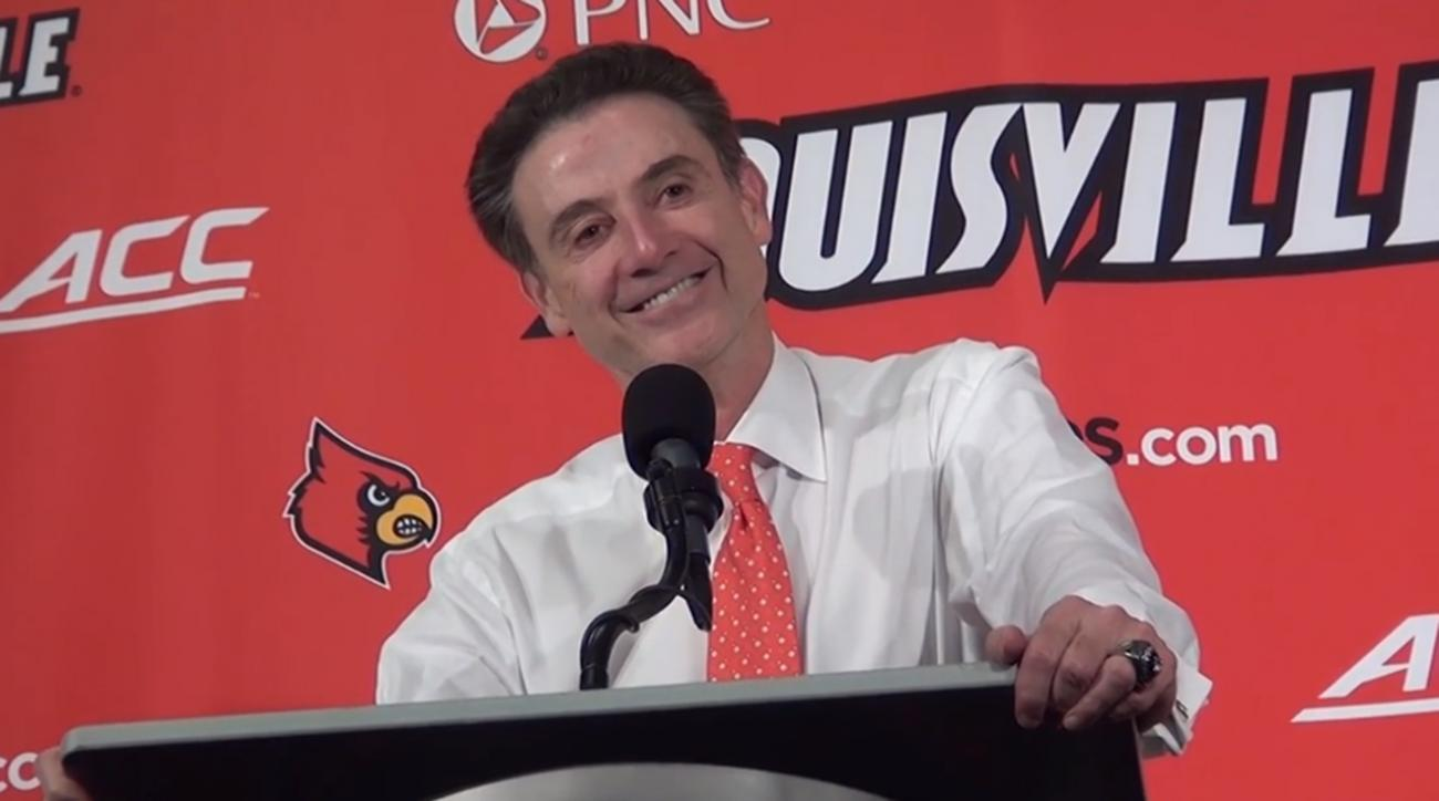 Rick Pitino's memorable one-liner after rout of Savannah State