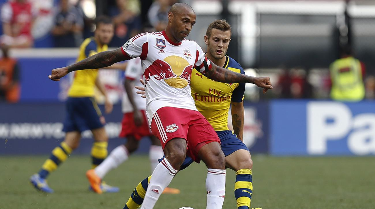 Thierry Henry will not return to New York Red Bulls