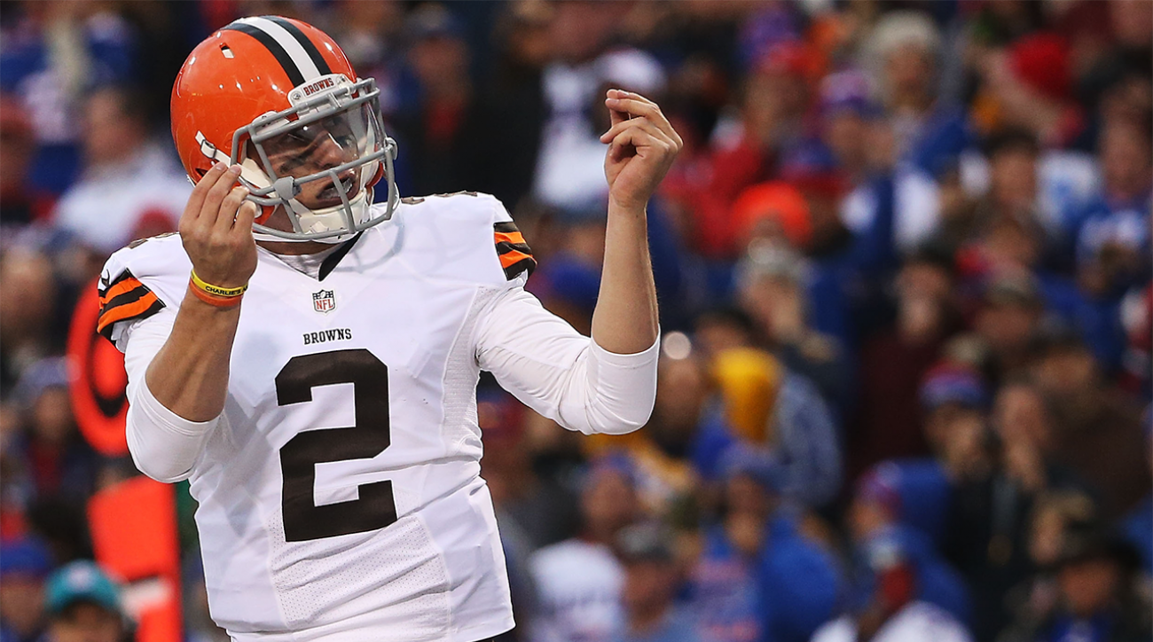 Boomer: It's time for Johnny Football in Cleveland IMG