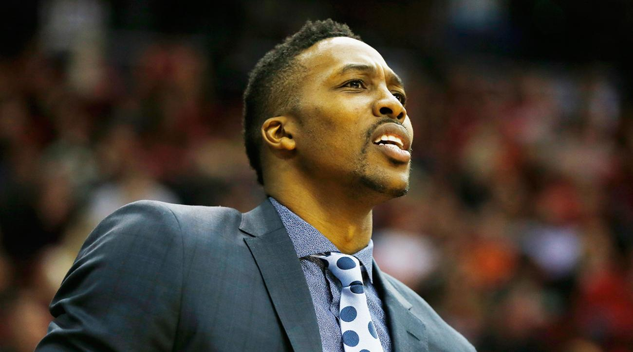 Dwight Howard not expected back 'any time soon'