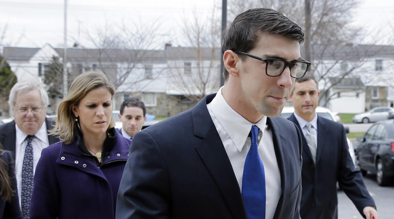 michael phelps DUI guilty