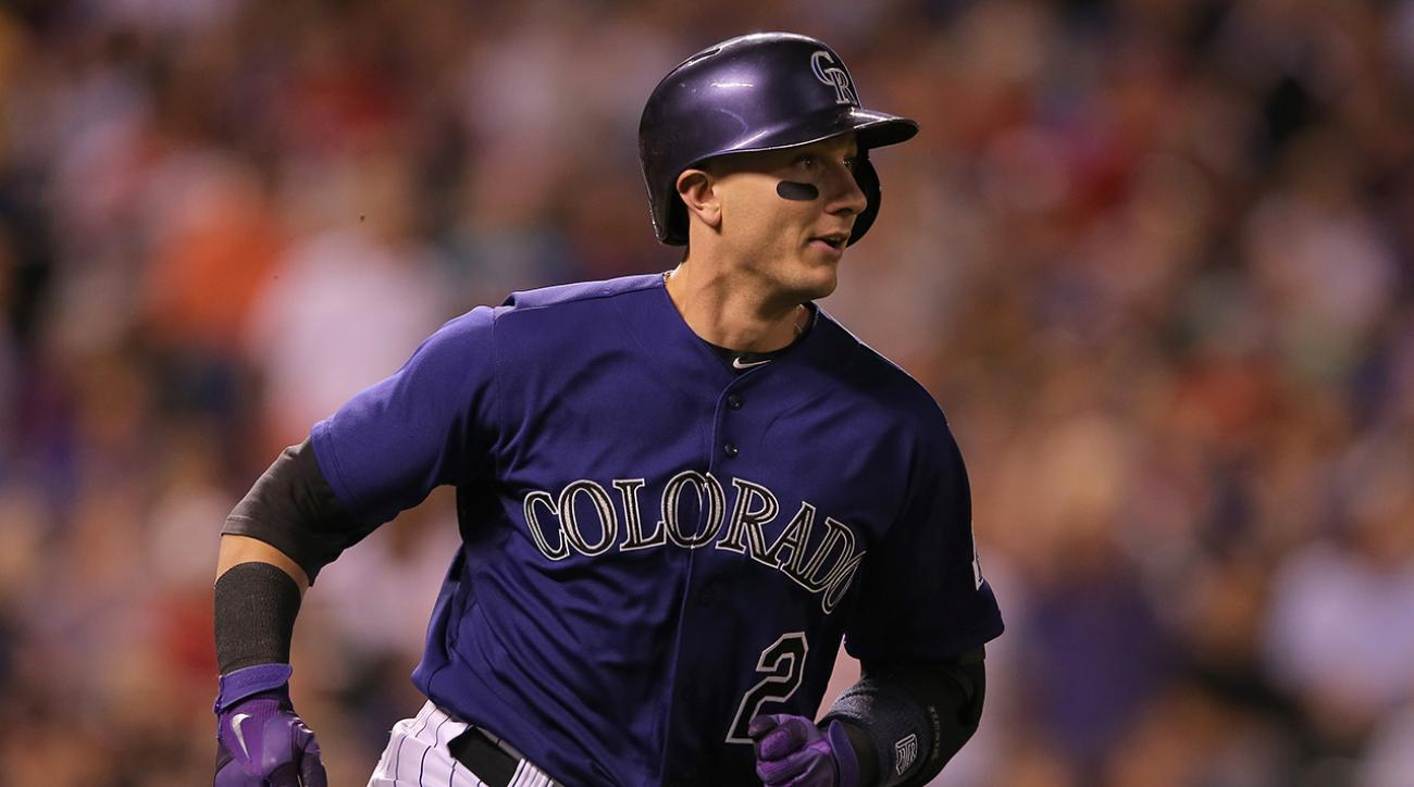 Colorado Rockies shortstop