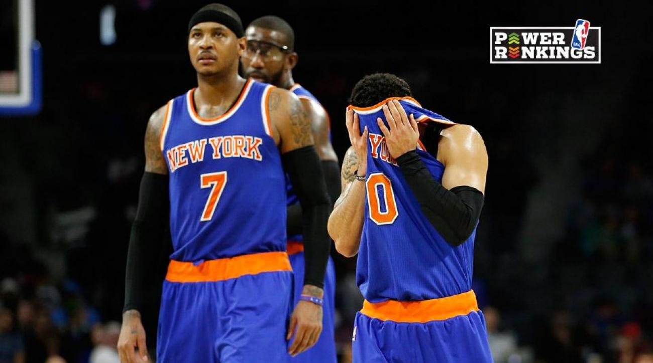 NBA Power Rankings: Knicks sink to the bottom IMG