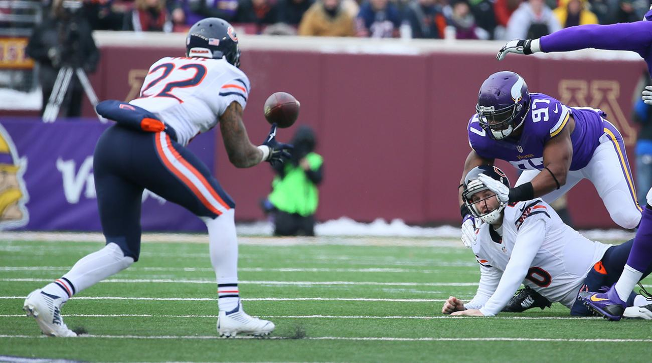 Chicago Bears' Matt Forte breaks running back reception record