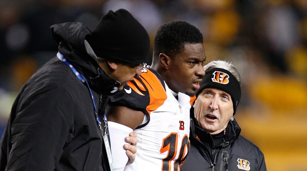 A.J. Green enters NFL concussion protocol