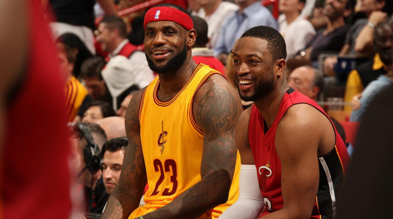 Did LeBron James tell Dwyane Wade he wants to reunite?