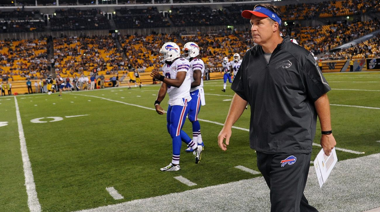 Doug Marrone steps down as Bills head coach