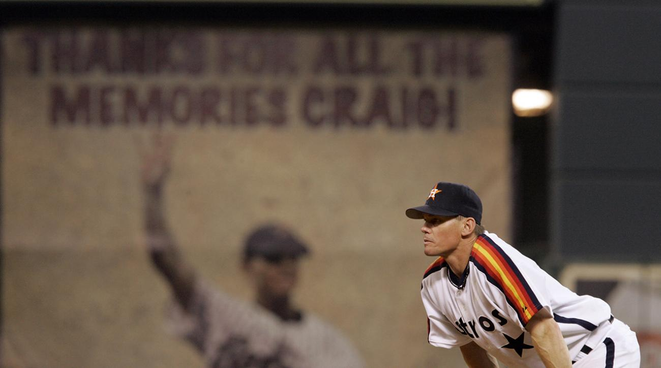Craig Biggio voted into Hall of Fame