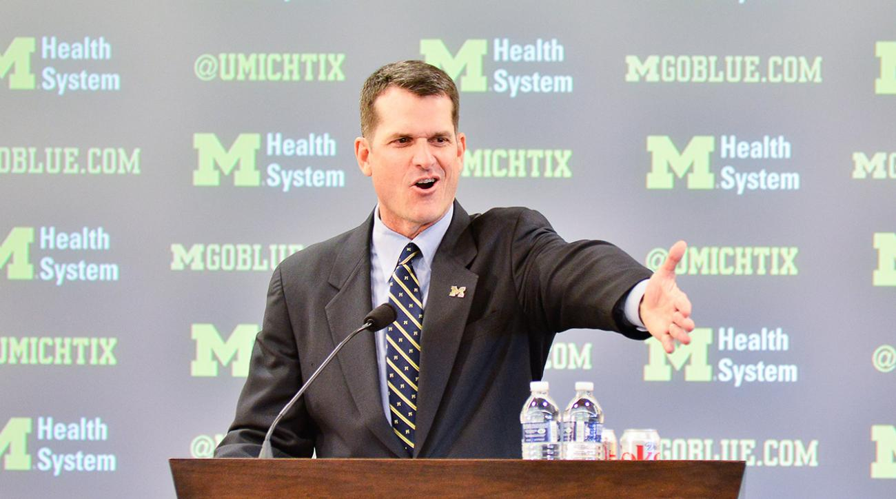 jim harbaugh michigan espn