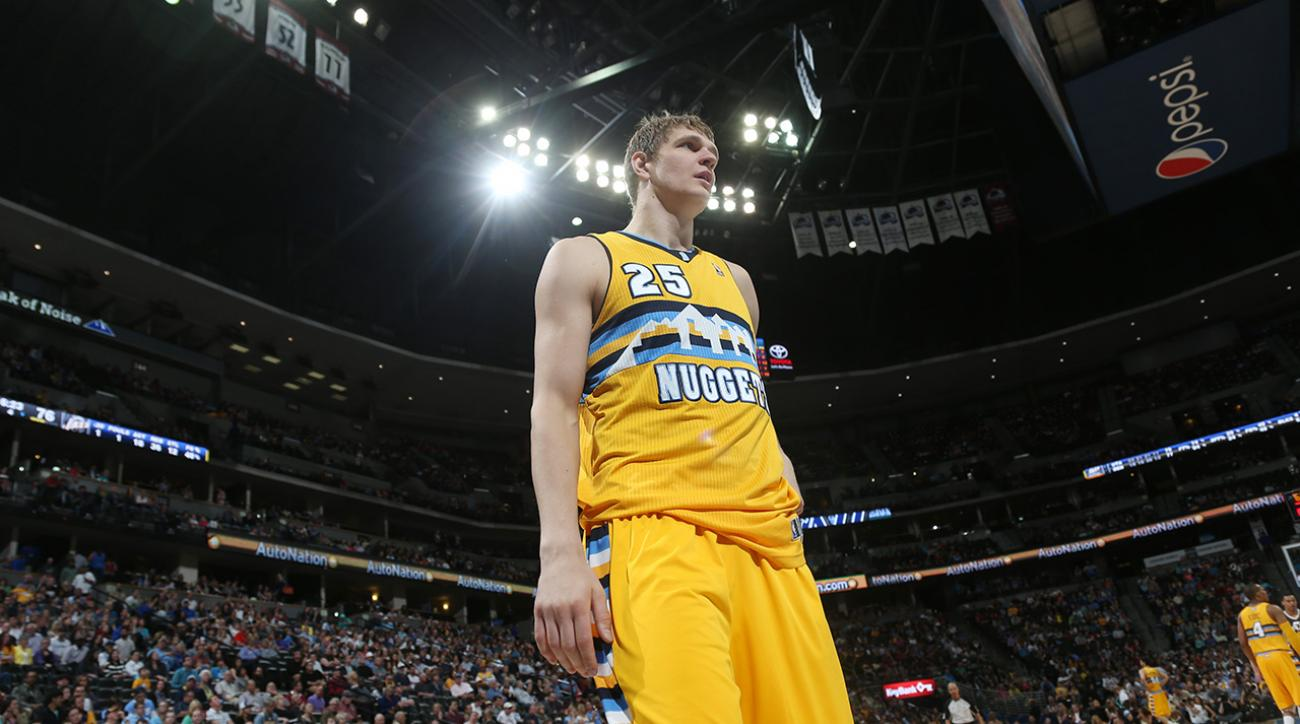 Cavs acquire center Timofey Mozgov