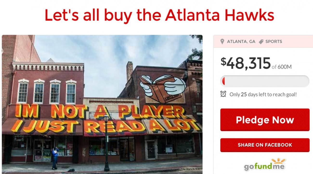 Atlanta Hawks fan starts crowdfunding campaign to buy team