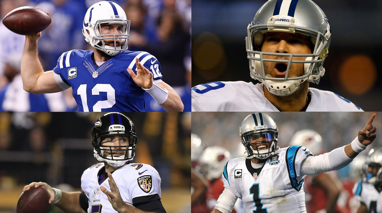 Ranking road QB's in divisional round IMG
