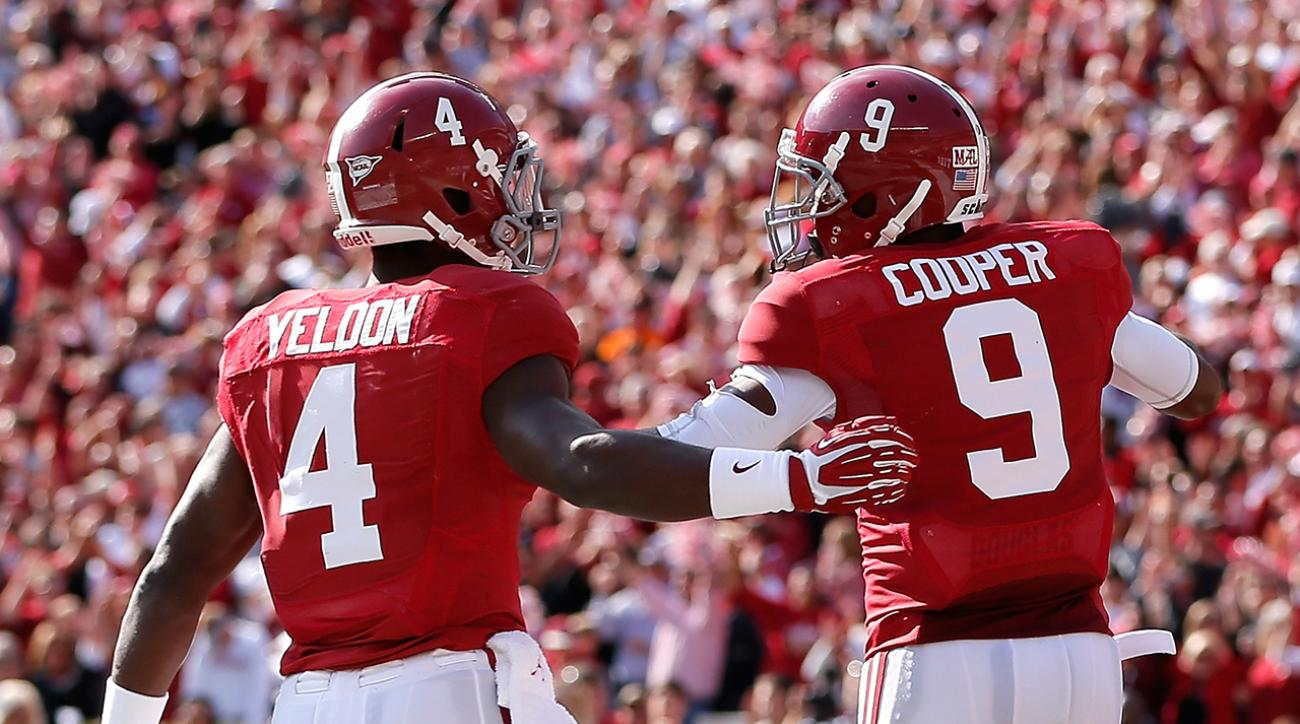 Alabama's Cooper, Yeldon to enter draft