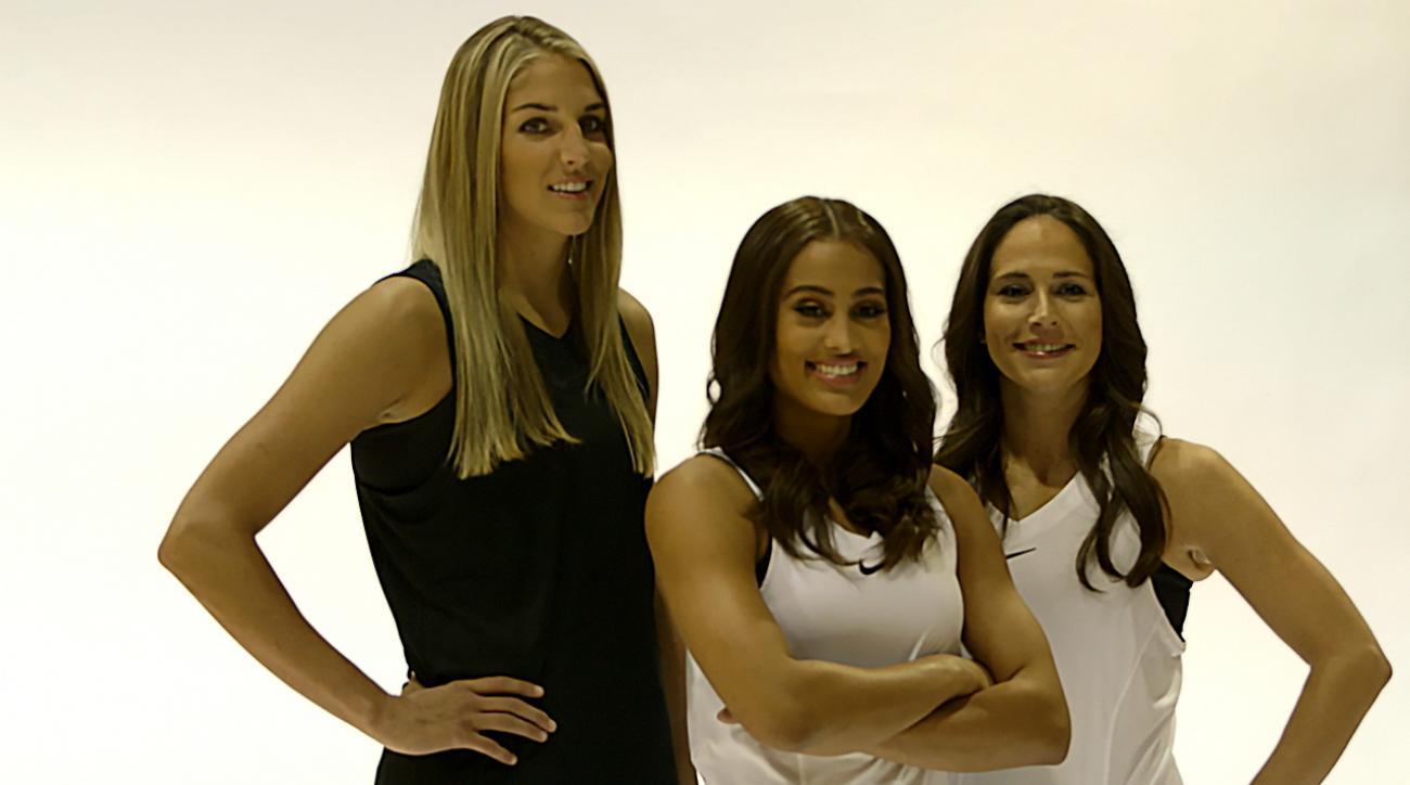 WNBA Sue Bird Skylar Diggins Elena Delle Donne IMG