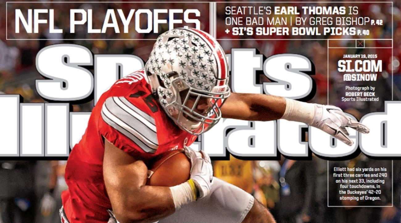 National Champions Ohio State on cover of this week's Sports Illustrated